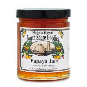 Papaya Jam by North Shore Goodies Hawaii