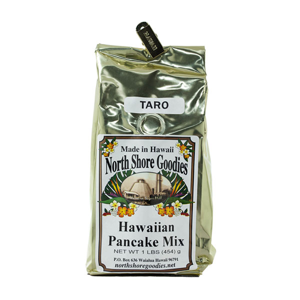 Taro Hawaiian Pancake Mix by North Shore Goodies