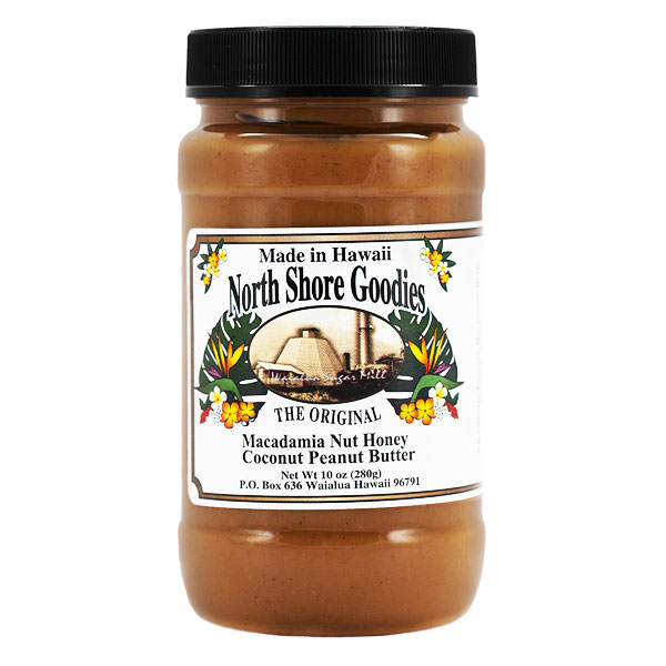 Macadamia Nut Honey Coconut Peanut Butter