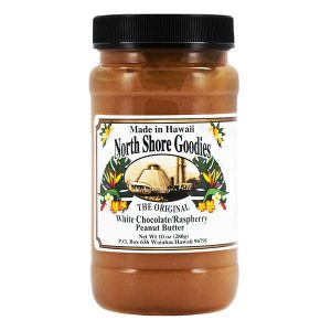 White Chocolate Raspberry Peanut Butter by North Shore Goodies