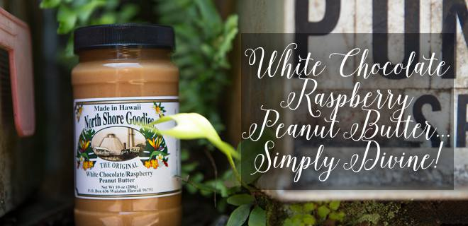 White Chocolate Raspberry peanut butter
