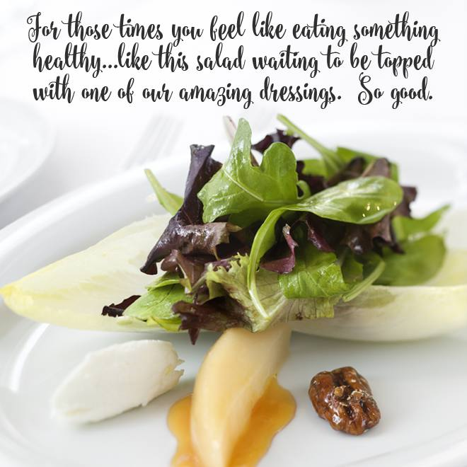 our salad dressings