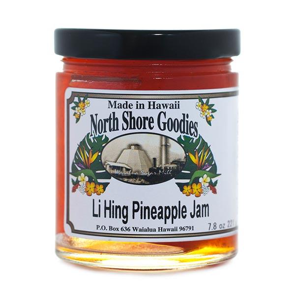 Li-Hing Pineapple Jam
